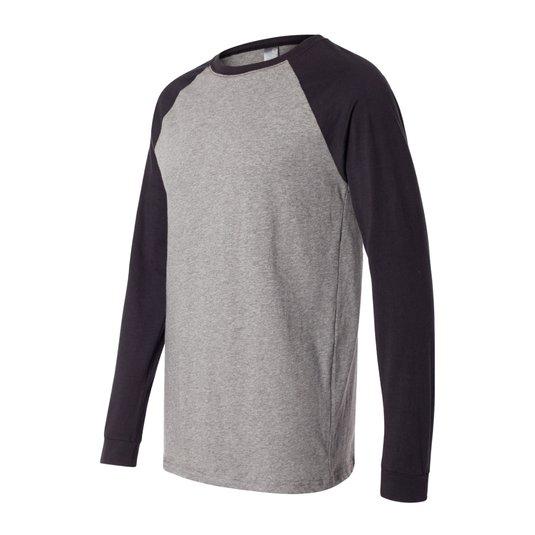 release date e944a 4bcd4 Bella + Canvas Long Sleeve Baseball Jersey T-Shirt