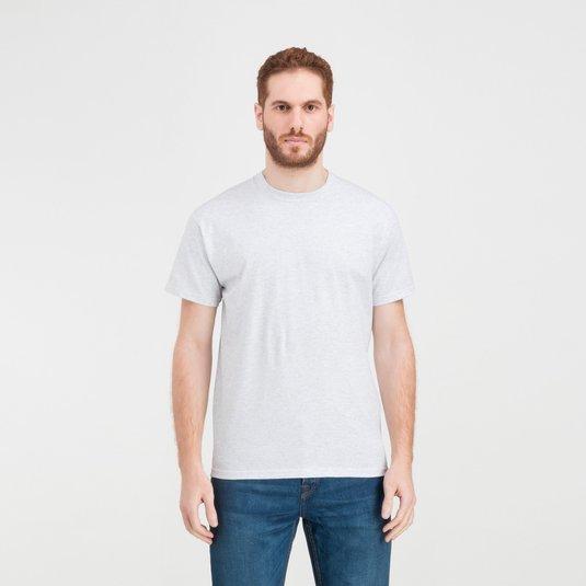 4d536ed15 Camiseta de manga corta de 100 % algodón para estampado monocolor de Fruit  of the Loom® para hombre