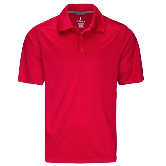 Elevate Men's Dade Short Sleeve Polo Shirt