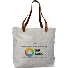 Büchertasche aus Baumwollsegeltuch Harper von Field & Co.®