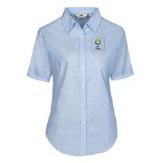 Fruit of the Loom® kortærmet oxfordskjorte til damer