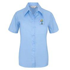 Russell™ Ultimate strijkvrij damesshirt met korte mouwen