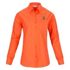 Russell™ Ladies Long Sleeve Polycotton Poplin Shirt