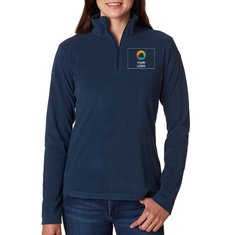 Columbia® Ladies' Crescent Valley Quarter-Zip Fleece
