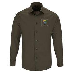 Pflegeleichtes Russell™ Herrenhemd mit langen Ärmeln und figurbetonter Passform