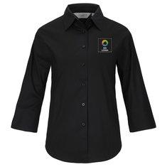 Russell™ skjorta i snäv dammodell med trekvartsärm