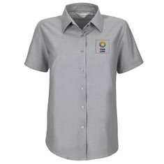 Russell™ Ladies Short Sleeve Easy Care Oxford Shirt