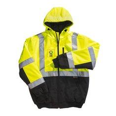 Xtreme Visibility™ Xtreme-Flex™ Insulated Soft Shell Hooded Jacket