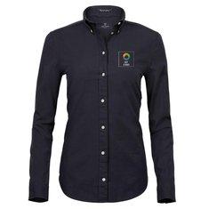 Tee Jays® Perfect langærmet oxfordskjorte til damer