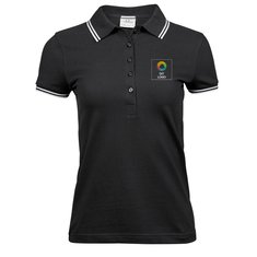 Tee Jays® Ladies Luxury Stretch Tipped Polo Shirt