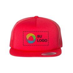 Gorra de estilo camionero de espuma y visera plana de Yupoong Classics™
