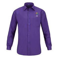 Russell™ Men's Long Sleeve Polycotton Poplin Shirt