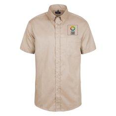 Russell™ Heren Classic Twill Shirt met Korte Mouwen