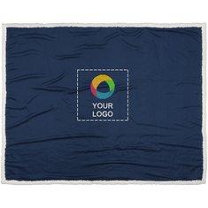 Bullet™ Far Sherpa Plaid Blanket