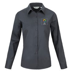 Russell™ Dames Classic Twill Shirt met Lange Mouwen