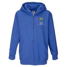 Fruit of the Loom® Kids Premium Hooded Sweat Jacket