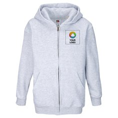 Fruit of the Loom® Kids Premium Hooded Sweat Jacket