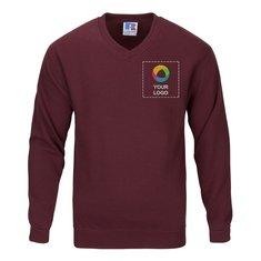 Sweatshirt mit V-Ausschnitt von Russell™