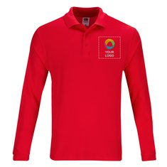 Fruit of the Loom® Premium Long Sleeve Polo