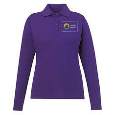 Core 365™ Ladies' Pinnacle Performance Long-Sleeve Piqué Polo