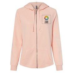 Independent Trading Co. Women's California Full-Zip Hooded Sweatshirt