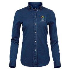 Tee Jays® långärmad twillskjorta i dammodell