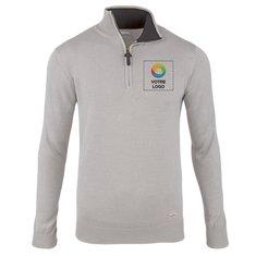 Sweatshirt à col zippé homme Set Slazenger™