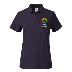 Fruit of the Loom® Lady-Fit Premium Polohemd 100 % Baumwolle