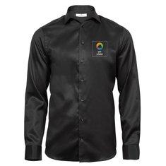 Tee Jays® Luxury Slim Fit langærmet oxfordskjorte