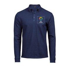 Tee Jays® Luxury Fashion Stretch Long Sleeve Polo Shirt