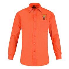 Langärmeliges Polycotton-Popeline-Hemd für Herren von Russell™