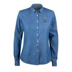 J.Harvest & Frost Indigo Bow 130 skjorte til damer