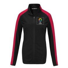 chaqueta soft shell Port Authority® Active con bloques de color para dama