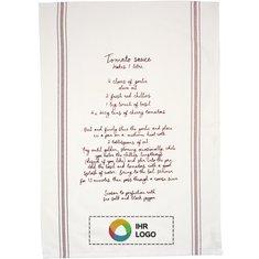 Rezeptgeschirrtuch aus Baumwolle Aberdeen von Jamie Oliver™ haben Sie das Rezept Ihrer Lieblingssoße immer zur Hand.