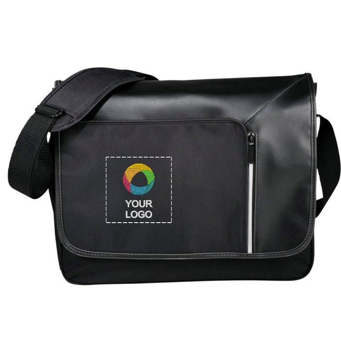 """Avenue™ Vault 15.6"""" Laptop Messenger with RFID Secure Pocket"""