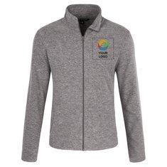 Port Authority® Heather Microfleece Full-Zip Jacket