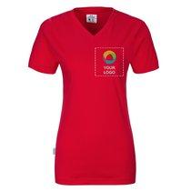 Maglietta con scollo a V da donna GOTS CottoVer®