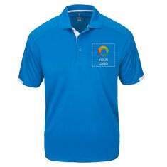 Elevate Men's Kiso Short Sleeve Polo Shirt