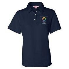 57b69a7a No minimum quantity. FeatherLite Ladies' Moisture Free Mesh Sport Shirt