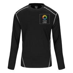 River's End® Men's Contrast Stitch Long Sleeve Crewneck T-shirt