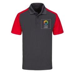 Camisa polo Sport-Wick® de micropiqué y bloque de color de Sport-Tek®