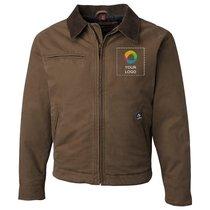DRI DUCK Outlaw Boulder Cloth™ Jacket with Corduroy Collar