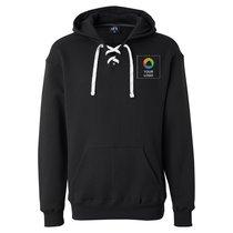 J. America Sport Lace Hooded Sweatshirt