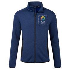 Eddie Bauer® Full-Zip Heather Stretch Fleece Jacket