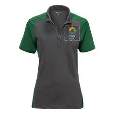 Sport-Tek® Ladies Colorblock Micropique Sport-Wick® Polo