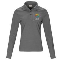 Printer Essentials Surf RSX Long Sleeve Men's Polo Shirt