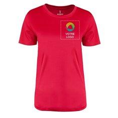 T-shirt technique pour femme à manches courtes Omi Elevate