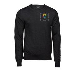 Tee Jays® Merino Blend Crew Neck Sweater