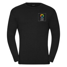 Russell™ Men's Crew Neck Knitted Pullover