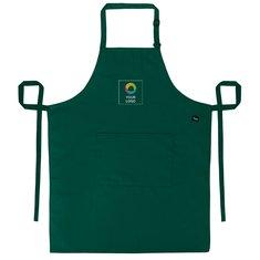 Polyesterlatzschürze mit Tasche von Dennys London®